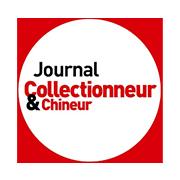 Logo journal collectionneur et chineur
