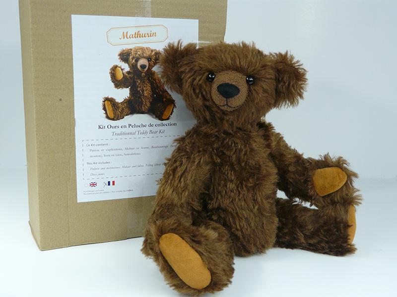 Kit ours en peluche