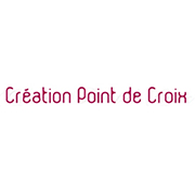 Logo magazine Creation point de croix