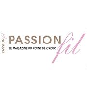 Logo magazine Passion et fil